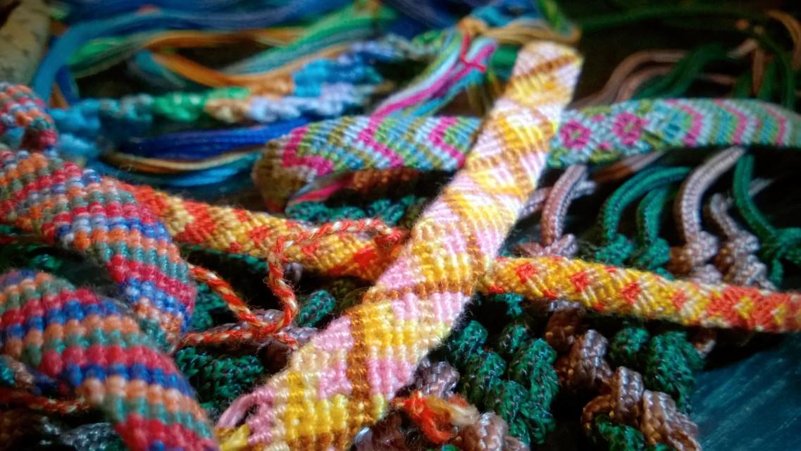 #Handmade. Friendship bracelet. #Ručni rad Narukvica prijatejlstva.